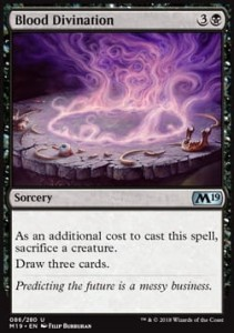 Blood Divination (M19 Core Set)