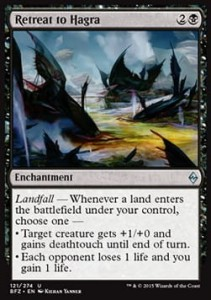 Retreat to Hagra (Battle for Zendikar)