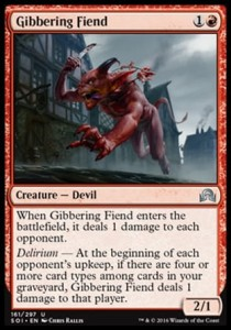 Gibbering Fiend (Shadows over Innistrad)