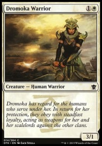 Dromoka Warrior (Dragons of Tarkir)