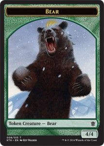 Bear Token (Khans of Tarkir 008/013)