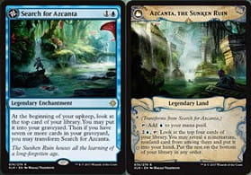 Search for Azcanta / Azcanta, the Sunken Ruin (Ixalan)