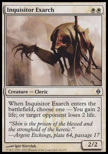 Inquisitor Exarch (New Phyrexia)