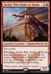 Alesha, Who Smiles at Death (Fate Reforged)