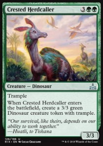 Crested Herdcaller (Rivals of Ixalan)