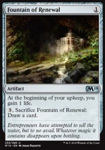 Fountain of Renewal (M19 Core Set)