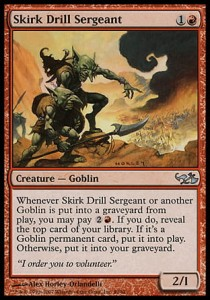 Skirk Drill Sergeant (DD: Elves vs Goblins)