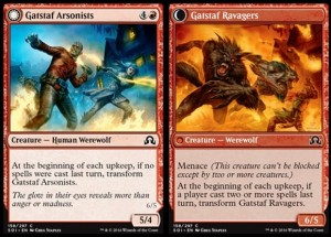 Gatstaf Arsonists / Gatstaf Ravagers (Shadows over Innistrad)