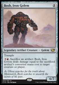 Bosh, Iron Golem (Commander 2014)