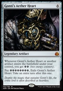 Gonti's Aether Heart (Aether Revolt)