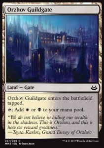 Orzhov Guildgate (Modern Masters 2017)
