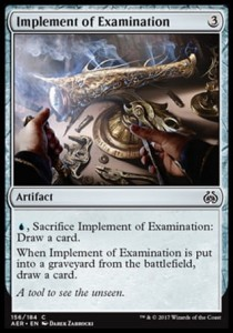 Implement of Examination (Aether Revolt)