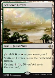 Scattered Groves (Amonkhet)