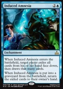 Induced Amnesia (Rivals of Ixalan)
