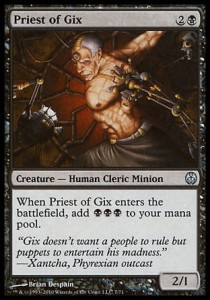 Priest of Gix (DD: Phyrexia vs. The Coalition )