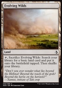 Evolving Wilds (Amonkhet)