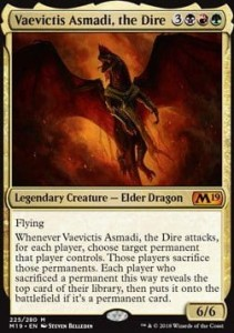 Vaevictis Asmadi, the Dire (M19 Core Set)