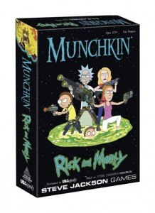 Munchkin Rick and Morty *English Version* - PRE ORDER