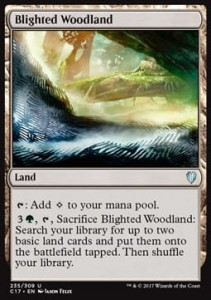 Blighted Woodland (Commander 2017)