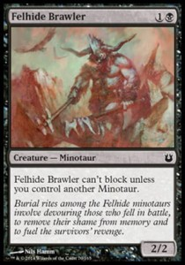 Felhide Brawler (Born of the Gods)