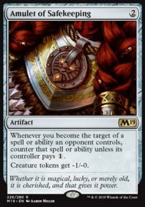Amulet of Safekeeping (M19 Core Set)
