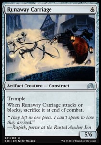 Runaway Carriage (Shadows over Innistrad)
