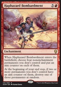 Haphazard Bombardment (Dominaria)