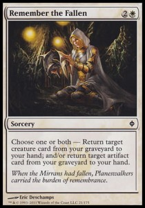 Remember the Fallen (New Phyrexia)