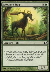 Axebane Stag (Return to Ravnica)