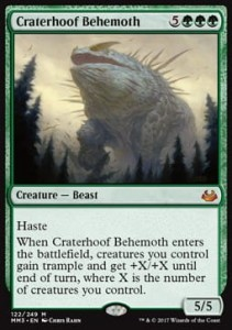Craterhoof Behemoth (Modern Masters 2017)