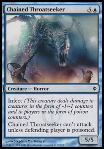 Chained Throatseeker (New Phyrexia)
