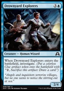 Drownyard Explorers (Shadows over Innistrad)