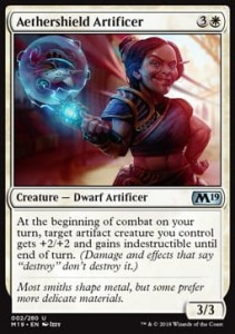 Aethershield Artificer (M19 Core Set)
