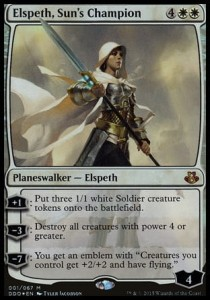 Elspeth, Sun's Champion - FOIL (DD: Elspeth vs Kiora)