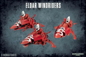 Eldar Windriders - WH 40K