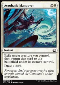 Acrobatic Maneuver (Kaladesh)