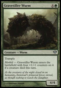 Gravetiller Wurm (Dark Ascension)