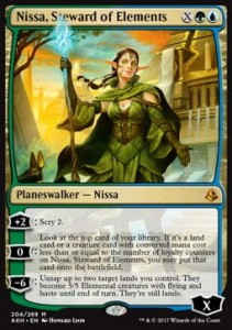 Nissa, Steward of Elements (Amonkhet)