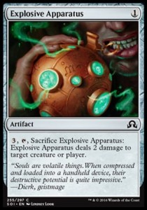 Explosive Apparatus (Shadows over Innistrad)