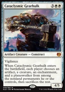 Cataclysmic Gearhulk (Kaladesh)