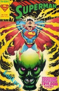 TM - Semic - Superman 11/1991 - Brainiac Trylogia cz. I i II