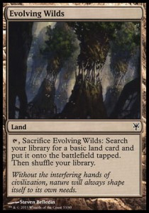 Evolving Wilds (DD: Sorin vs Tibalt)