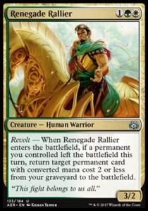 Renegade Rallier (Aether Revolt)