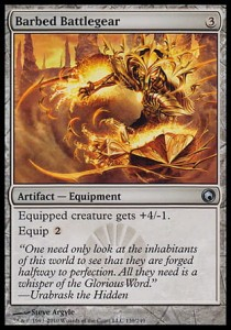 Barbed Battlegear (Scars of Mirrodin)