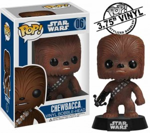 Funko POP Chewbacca Bobble Head # 06 - Star Wars
