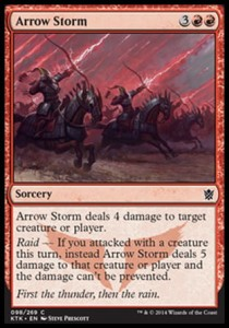 Arrow Storm (Khans of Tarkir)