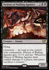 Demon of Wailing Agonies (Commander 2014)