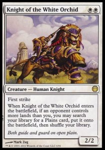 Knight of the White Orchid (DD: Knights vs. Dragons)
