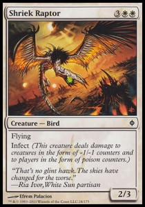 Shriek Raptor (New Phyrexia)