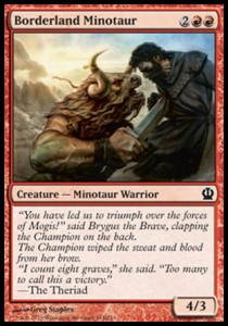 Borderland Minotaur (Theros)